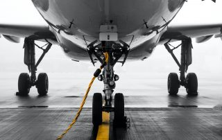 Airplane Landing Gear - Applying Nycote to Protect Aerospace Landing Gear from Runway Deicers and Resist Harsh Chemicals